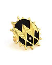 House of Harlow 1960 | Metallic Zig Zag Starburst Ring | Lyst