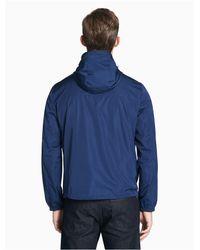 Calvin Klein Blue Lightweight Reversible Logo Jacket for men