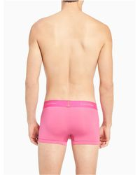 CALVIN KLEIN 205W39NYC Pink Light Micro Low Rise Trunk for men