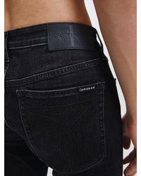 Calvin Klein Slim Tapered Jeans in het Gray voor heren