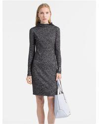 Calvin Klein - Multicolor Pebble Printed Medium Shopper Bag - Lyst