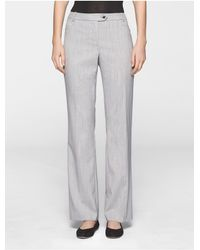 CALVIN KLEIN 205W39NYC - Multicolor Straight Fit Glen Plaid Pants - Lyst