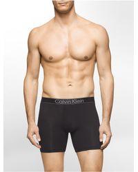 Calvin Klein - Black Modern Modal Boxer Brief for Men - Lyst