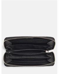 Calvin Klein - Black Misha Large Zip Wallet - Lyst