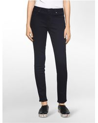 Calvin Klein Blue Jeans Dark Rinse Leggings