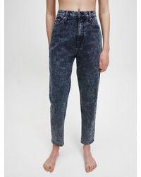 Calvin Klein Blue Mom Jeans