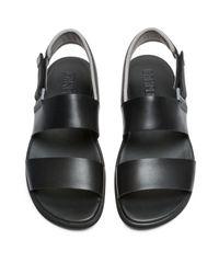Camper Spray Sandalen in Black für Herren
