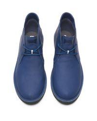 Camper Blue Ankle Boots for men
