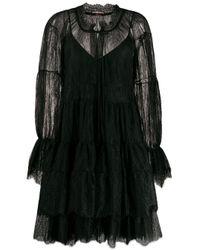Ermanno Scervino Black Dresses