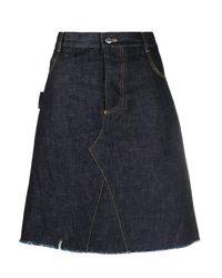 Bottega Veneta Blue Skirts