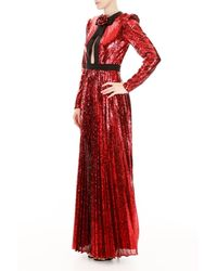 Philosophy Red Sequined Dress