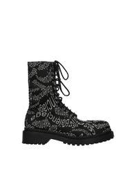 Balenciaga Ankle Boot Men Black for men