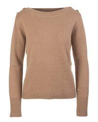 Max Mara Brown Sweaters