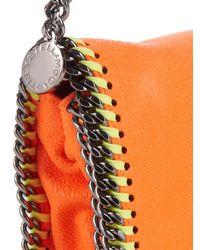 Stella McCartney Orange Falabella Shaggy Deer Cross-Body Bag