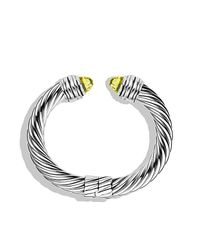 David Yurman | Metallic Cable Classics Bracelet, 10mm | Lyst