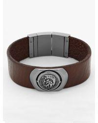 DIESEL | Brown Bracelet Dx0798 for Men | Lyst