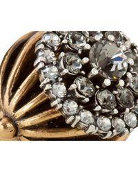 Camille K - Metallic Palladio Jewel Ring - Lyst