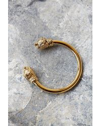 Han Cholo | Metallic Dope Lions Cuff for Men | Lyst