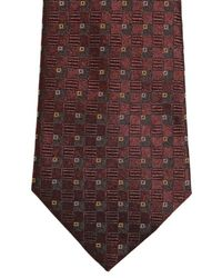 Dolce & Gabbana - Red 6Cm Silk Jacquard Martini Tie for Men - Lyst