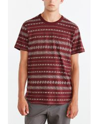 Obey | Purple Mateo Tee for Men | Lyst