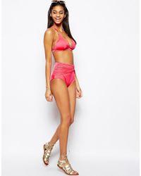 Gossard - Red Sienna Deep Shorts Bikini Bottom - Lyst