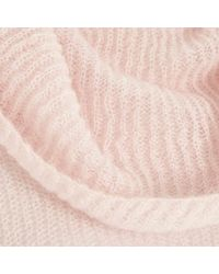 River Island Pink Mohair Cowl Neck Knitted Jumper