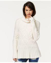 RACHEL Rachel Roy | White Cowl-neck Pullover Sweater | Lyst