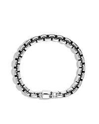 David Yurman - Black Box Chain Bracelet, 8mm for Men - Lyst
