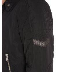 DIESEL | Black J-eiko Zip Up Lightweight Jacket for Men | Lyst