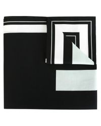 Givenchy Black 17 Print Scarf for men