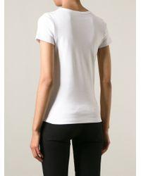 J.W.Anderson White Towel Logo T-Shirt