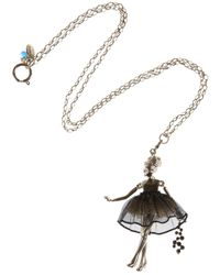 Servane Gaxotte   Metallic Girl Pendant Necklace   Lyst