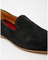 House Of Hounds - Black Ashby Suede Dress Slippers for Men - Lyst