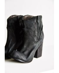 Jeffrey Campbell Black Showdown Ankle Boot