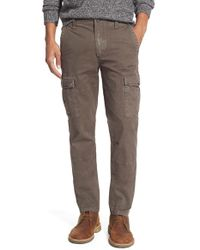 Eddie Bauer | Brown 'arrowhead' Slim Cargo Pants for Men | Lyst