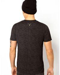 Elvis Jesus - Black Tshirt Punkt for Men - Lyst