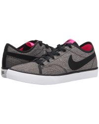Nike - Gray Primo Court Canvas - Lyst