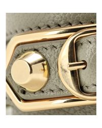 Balenciaga - Metallic Giant Leather Bracelet - Lyst