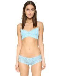 Honeydew Intimates | Blue A Getaway Camellia Lace Hipster Panties | Lyst
