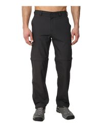 The North Face | Black Horizon Convertible Pant for Men | Lyst