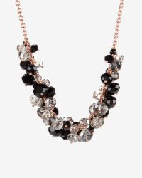 Ted Baker | Pink Cluster Bead Necklace | Lyst