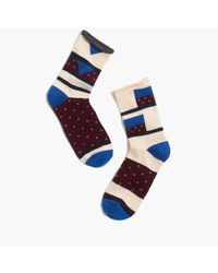 Madewell - Multicolor Mismatch Trouser Socks - Lyst