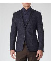 Reiss - Blue Cassius Patch Pocket Blazer for Men - Lyst