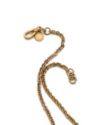 Marc By Marc Jacobs - Metallic Youve Got A Screw Loose Necklace Oro - Lyst