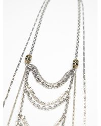 Vanessa Mooney - Metallic Cleo Statement Necklace - Lyst