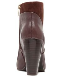 Vince Camuto | Brown Raylan Ankle Booties | Lyst