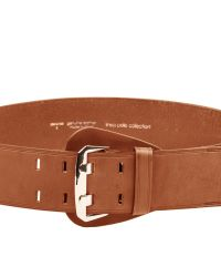 Linea Pelle | Brown Shielded Buckle Waist Belt | Lyst