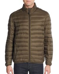 Saks Fifth Avenue | Natural Down Puffer Jacket for Men | Lyst