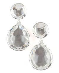 Ippolita | White Clear Quartz Snowman Earrings | Lyst