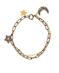 Lanvin | Metallic Elsie Star & Moon Pendant Necklace | Lyst